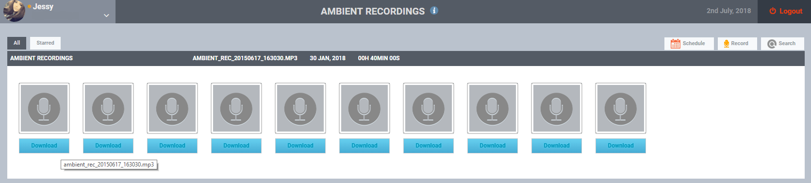 Ambience Recording